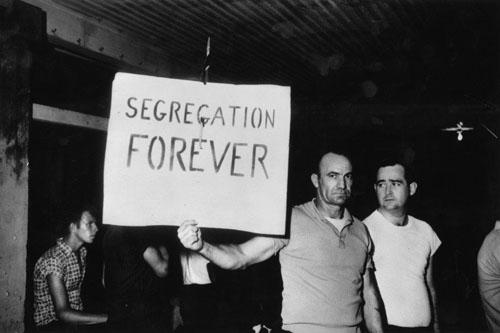 Segregationists, St. Augustine, Florida, 1964<br/>