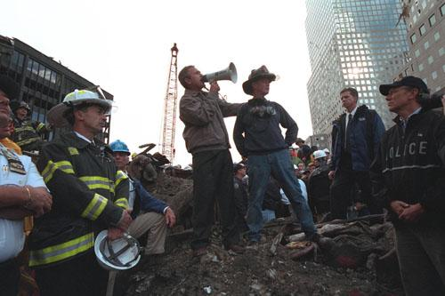 Ground Zero, New York City, September 14, 2001<br/>