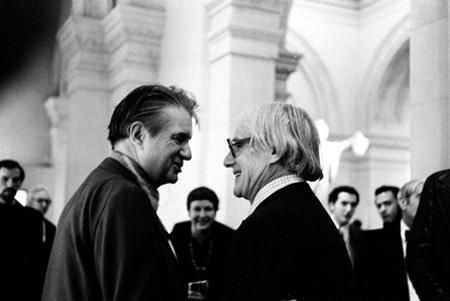 Francis Bacon and william De Kooning, The Metropolitan Museum of Art, 1974<br/>
