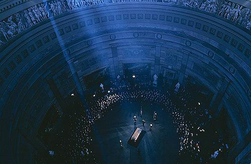 John F. Kennedy's Body Lies in State at the Capitol Rotunda, 1963 Archival Pigment Print