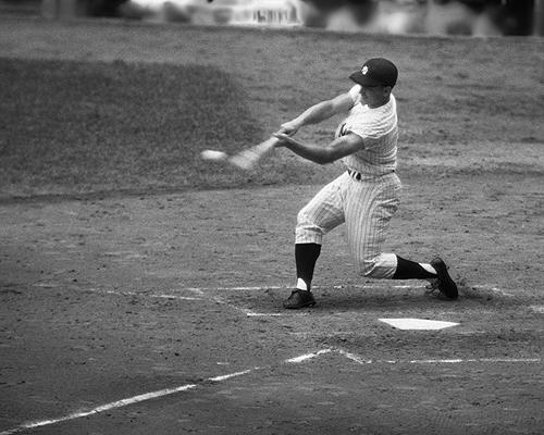 Roger Maris hits his 61st home run to break Babe Ruth's Record, 1961 Archival Pigment Print