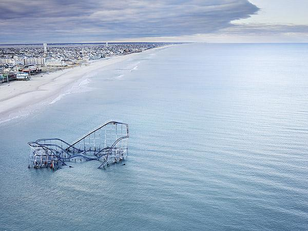 Hurricane Sandy, Seaside Heights, NJ, 2012<br/>