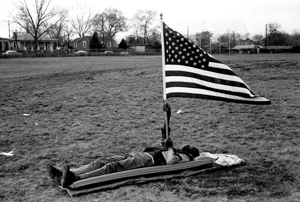 Boy with Flag, Selma March, 1965<br/>