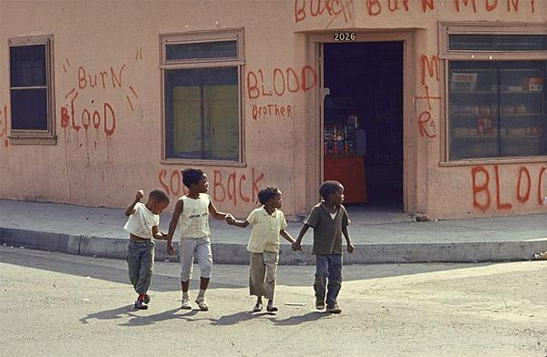 Children on Watts Street, 1966 (Burn, Baby, Burn)<br/>