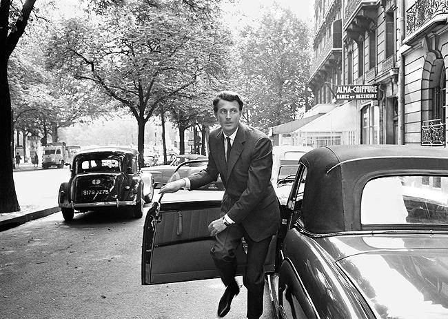 Givenchy, Paris, France, 1961 Gelatin Silver print