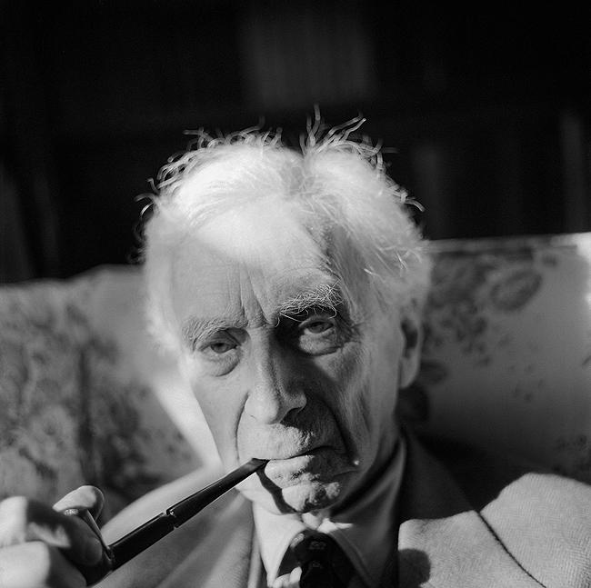 Bertrand Russell, Wales, 1964 Archival Pigment Print