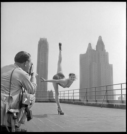 Contortionist -  Contortionist, New York City, 1951 Archival Pigment Print