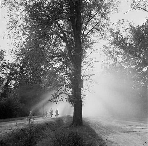 Road at Dawn, Luxembourg, 1947 Archival Pigment Print