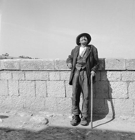Old Man, Bonefro, Italy, 1946 Archival Pigment Print