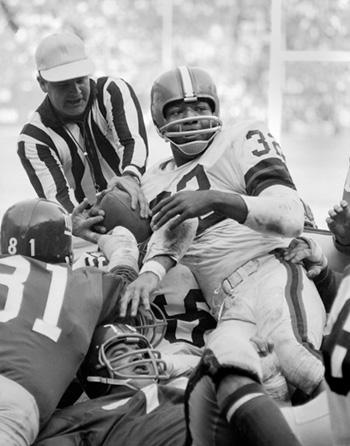Jim Brown, Cleveland Browns Running Back Archival Pigment Print