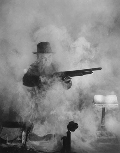 James Cagney, White Heat, Los Angeles, 1949 Gelatin Silver print