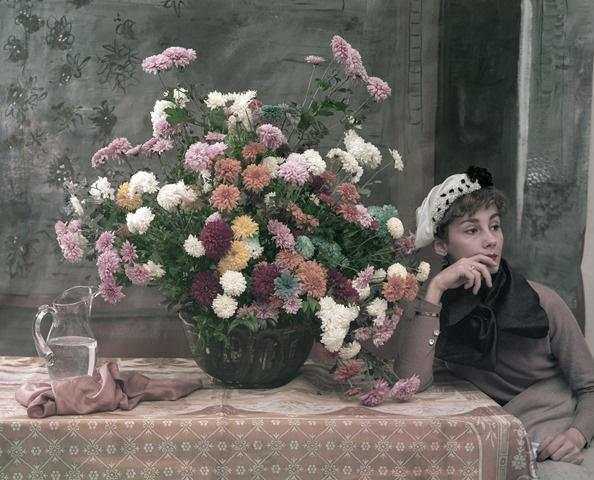 After Degas: Woman and Flowers, New York City 1960 Archival Pigment Print