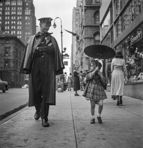 Going for a walk, New York, 1950 Archival Pigment Print