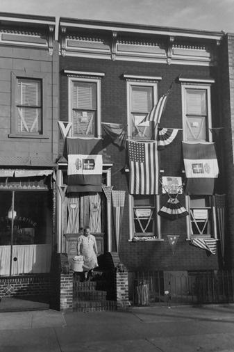 """Welcome Home Dom"", Brooklyn, 1945<br/>"