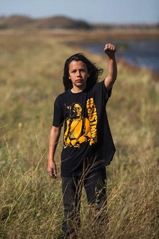 Itzcuauhti Martinez, Standing Rock, North Dakota, 2016<br/>
