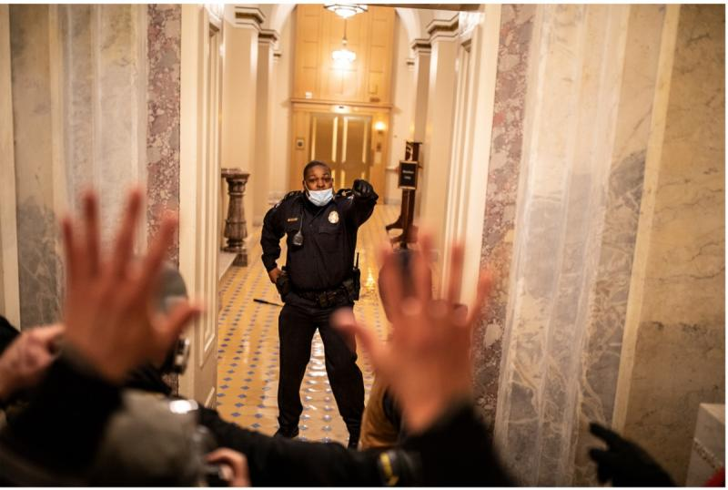 Officer Eugene Goodman: The Storming of The Capitol, Washington, D.C.,  January 6, 2020
