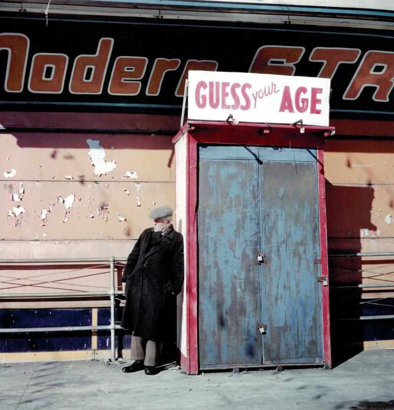 """Guess Your Age"", East Harlem, New York, 1947 Archival Pigment Print"