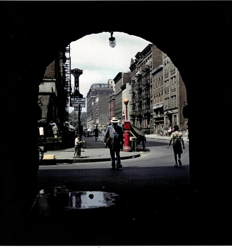 Park Avenue Archway, East Harlem, New York, 1947 Archival Pigment Print