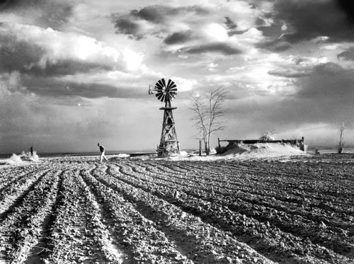 Approaching Storm, Hartman, Colorado, 1954<br/>