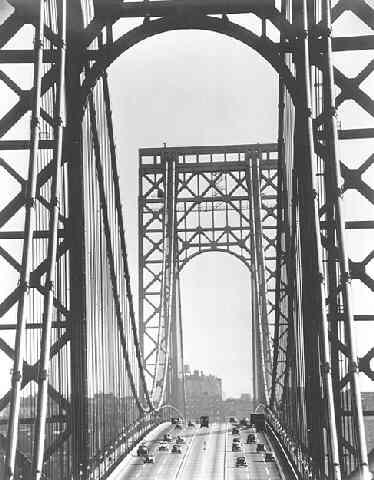 George Washington Bridge, New York (?Time Inc.)<br/>
