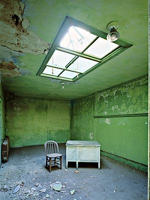 Psychiatric Hospital, green room, Island 2<br/>