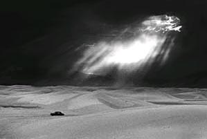 White Sands, New Mexico, 1952 Gelatin Silver print