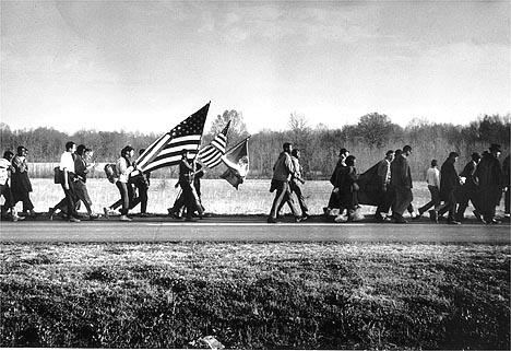 On the Road, the Selma March, 1965<br/>