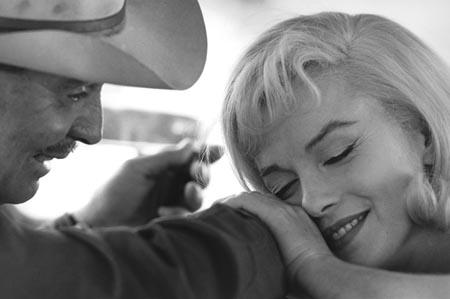 Clark Gable and Marilyn Monore,<br/>