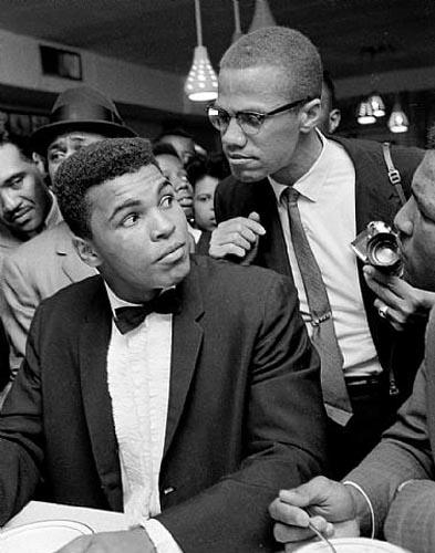 Cassius Clay and Malcolm X, Miami, 1964 Pigment Print