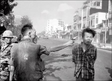 Street Execution of a Viet Cong Prisoner, Saigon, 1968<br/>